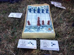 Onitama Outside - Great Story Games and Board Games to Bring Camping - Ask The Bellhop