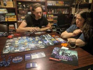 Playing Tyrants of the Underdark a Dungeons & Dragons Board Game.