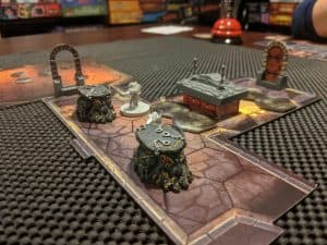 Loved this room from the Mindthief solo scenario for Gloomhaven.
