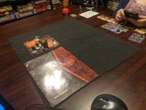 Gloomhaven Mindthief Solo Scenario Being Played