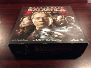 The box for Battlestar Galactica the board game.