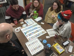 Playing Concept at the Windsor Extra Life gaming event.