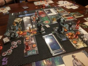 The end of a game of Cthulhu Death May Die.