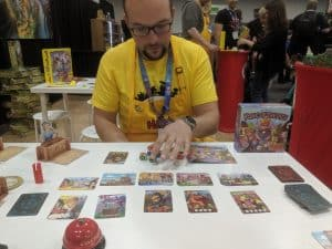 Learning King of the Dice at Origins - King of the Dice, a Great Kids' Push Your Luck Dice Game from HABA - Review
