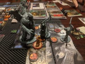 The Cthulhu miniature from Cthulhu Death May Die from CMON