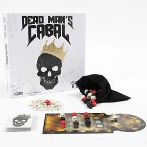 The box for Dead Man's Cabal