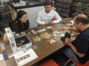 Dead Man's Cabal featured during an Extra Life board game tournament.