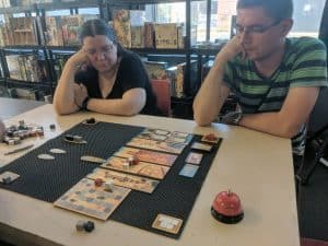 Three player Imhotep Builder of Egypt.
