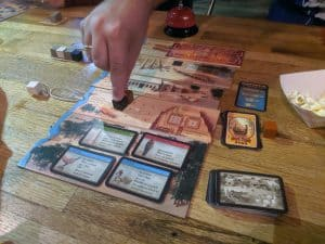 Playing the board game Imhotep a great gateway game