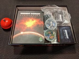 The Escalation Expansion for Eminent Domain fitting nicely in the core box.