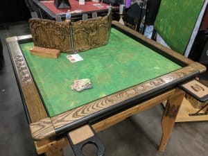 And RPG table with no players and no GM.
