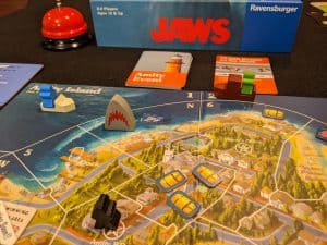 Mid way through a game of Jaws from Ravensburger