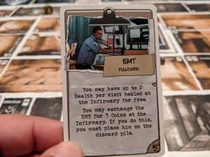 The EMT card in Talisman Batman Super-Villains Edition makes no sense.