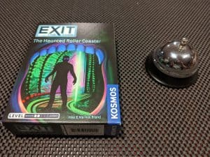 The Haunted Roller Coaster an EXIT The Game Escape Room in a Box