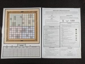 The board and instructions in Roll for Lasers