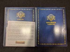 The scenario book containing 25 new Gloomhaven scenarios in Jaws of the Lion