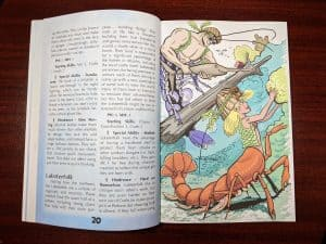 The Lobersterfolk of Mermaid Adventures Revised