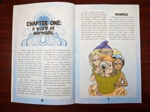 Chapter one of Mermaid Adventures Revised introduces the world.