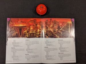 An introduction to the Seattle Metroplex from the Shadowrun Sixth World Beginner Box.