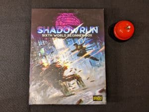 Here's the box for the new Shadowrun Sixth World Beginner Box