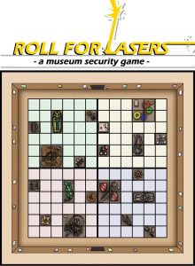 Roll for Lasers has no box, this is the BGG representative image.