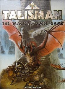 The box cover for the original Talisman Second Editoin.