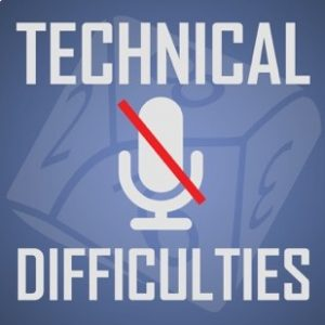 The Technical Difficulties podcast logo.
