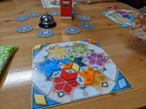 Azul Summer Pavilion lets you save tiles between rounds of tile laying