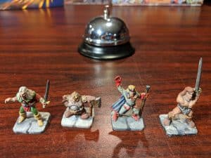 Painted mniatures for the board game Heroquest