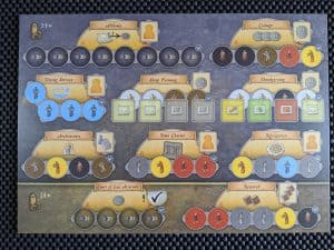 The new Beneficial Deeds board from Orleans Trade & Intrigue