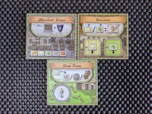 The new place tiles included in Orleans: Trade and Intrigue