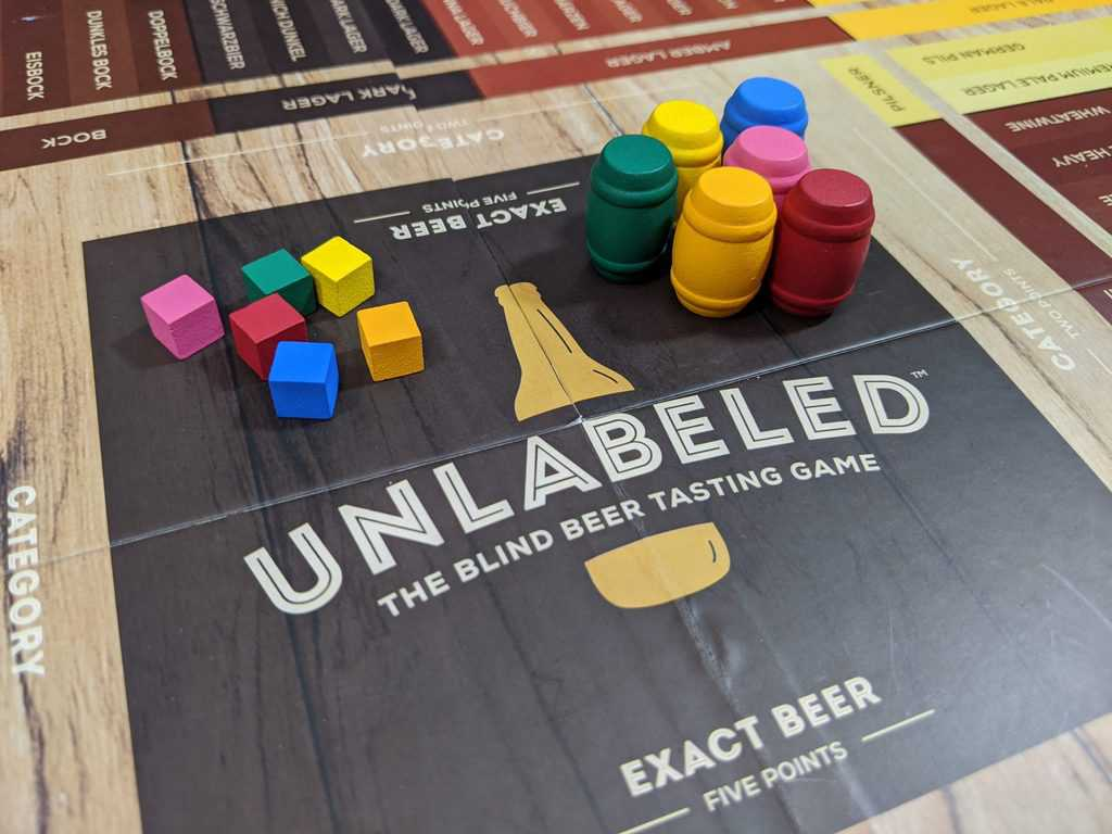 Unlabelled is a light party game for those who like craft beer.