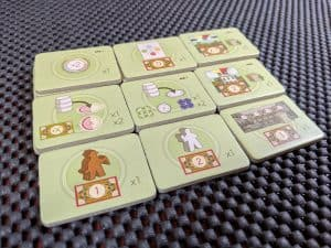 Bonus tiles are a great way to get more actions in Vinhos Deluxe