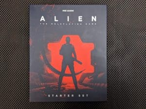 ALIEN The Roleplaying Game Starter Set - the box cover.