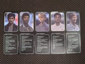 ALIEN The Roleplaying Game Starter Set - NPC cards