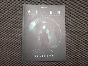 The cover of the ALIEN The Roleplaying Game Starter Set Rulebook