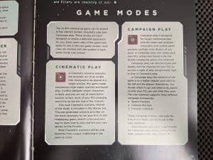 ALIEN The Roleplaying Game Starter Set - The two modes of play.