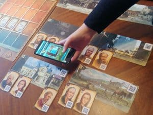 Chronicles of Crime 1400 uses an app to simulate a crime investigation