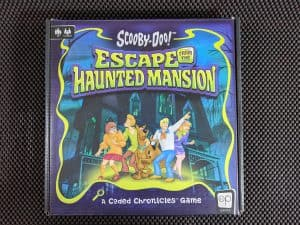 The box for Scooby-Doo Escape From The Haunted Mansion
