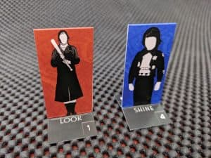 The character standees from The Shining Escape from the Overlook Hotel