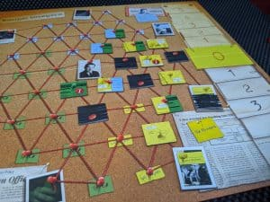 The end of a game of Watergate, the Press wins!