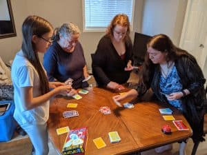 Ratuki is a great card game for all ages.