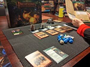 Looking up rules is a common part of the Pathfinder Adventure Card Game Core Set