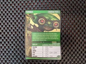 The Fumbus character card from the Pathfinder Adventure Card Game Core Set