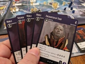 Playing a Drow House in Tyrants of the Underdark