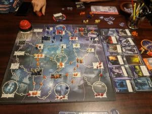 Tyrants of the Underdark the D&D board game.