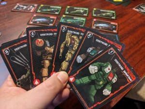 A look at some RDF combat cards in Robotech Force of Arms featuring great Robotech Mecha artwork.