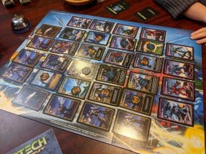 The resolution and scoring phase of Robotech Crisis Point