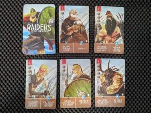 Examples of new townsfolk from Raiders of the North Sea Hall of Heroes