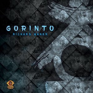 The prototype cover for Gorinto from Grand Gamers Guild